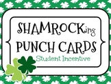 Shamrock Punch Cards {student incentive} 6, 9, 10, 12 Punches