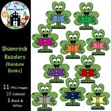 Shamrock Readers Clip Art