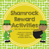 Shamrock Reward Activities with /SH/ Articulation Cards