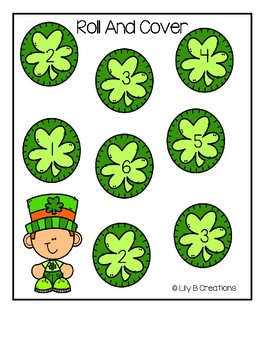 Roll And Cover - Shamrocks
