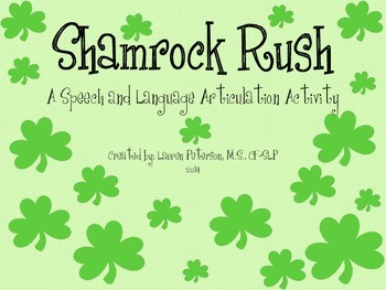 Shamrock Rush Open-Ended Articulation Game