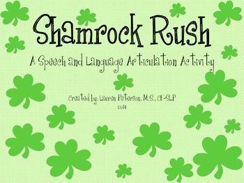 Shamrock Rush Open-Ended Articulation Game