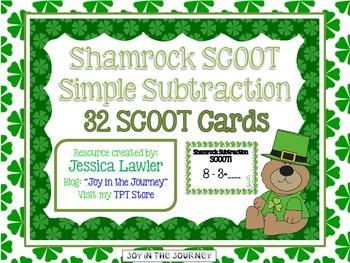 Shamrock SCOOT: Simple Subtraction
