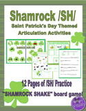 Shamrock /SH/ Articulation : Saint Patrick's Day Theme