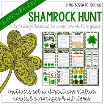 Shamrock Scavenger Hunt