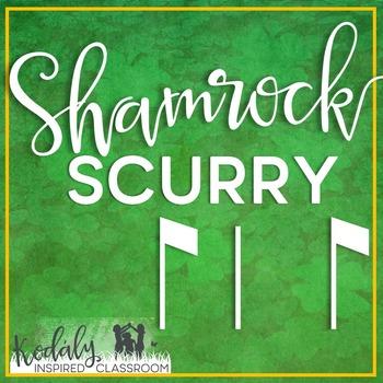 Shamrock Scurry Rhythm Races: syncopa