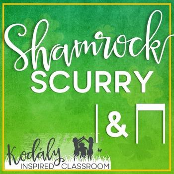 Shamrock Scurry Rhythm Races: ta and titi