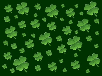 Shamrock Search - An Animated Game for Interactive Whiteboards