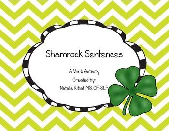 Shamrock Sentences: A Verb Activity