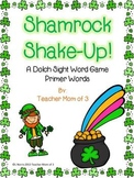 St. Patrick's Day Dolch Primer Words Game
