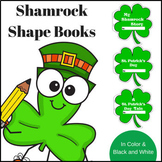 Shamrock Shape Book Templates  ~ A Fun St. Patrick's Day Writing Project!