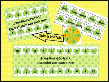 St. Patrick's Day Math Game