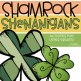 Shamrock Shenanigans | St. Patrick's Day Activities for Upper Grades