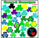 Shamrock Shenanigans by Clipart from the Heart