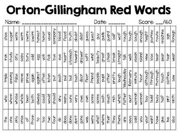 Shamrock Shimmy - St. Patrick's Day Game for Orton-Gillingham Red Words