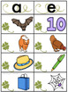 St. Patrick's Day Shamrock Short Vowel Sort Literacy Center