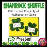 Free Saint Patrick's Day Themed Distributive Property of Multiplication Game