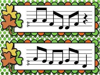 Shamrock Shuffle: Games for Practicing Melodic Elements, Bundled Set