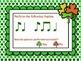 Shamrock Shuffle: Games for Practicing Rhythmic Elements, Bundled Set