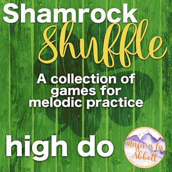 Shamrock Shuffle: Games for practicing high do