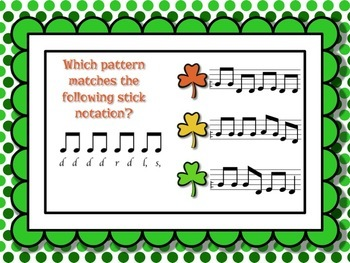 Shamrock Shuffle: Games for practicing low so