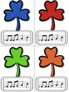 Shamrock Shuffle: Games for practicing re in pentatonic patterns