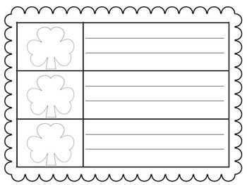 Shamrock Sight Words