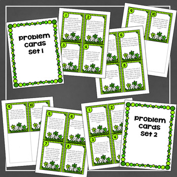 Shamrock Solving: A March Math Center for Practicing Word Problems