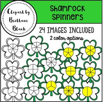 Shamrock Spinners Clipart