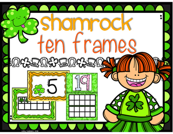 St. Patrick's Day Ten Frames