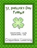 Shamrock, St Patrick's Day Pattern - Lined and Unlined - Freebie