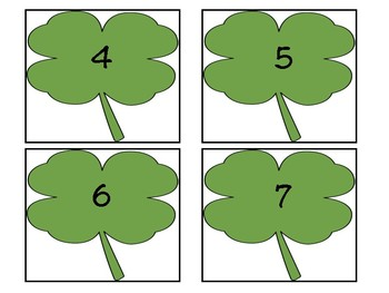 Shamrock Subtraction Sort