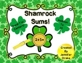 Shamrock Sums!  St Patrick's Day Addition to 10 Math Clipping Center & More!