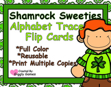 Shamrock Sweeties Alphabet Trace Flip Book