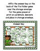 Shamrock Sweeties Quarter Past Time File Folder Game