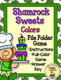 Shamrock Sweets Colors File Folder Game
