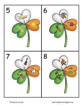 Shamrock Syllables {Read the Room}