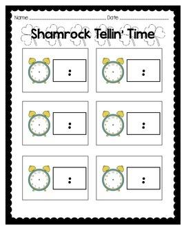 Shamrock Tellin' Time