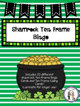 Shamrock Ten Frame Bingo