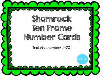 Shamrock Ten Frames