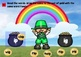 St. Patrick's Day Activities Kindergarten CVC Words Centers & BOOM CARDS