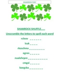 Shamrock Word Scrambler