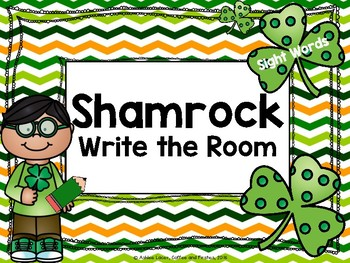 March Themed Write the Room