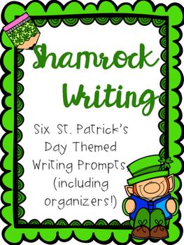 Shamrock Writing-Procedural, Persuasive, & Narrative for St. Patrick's Day!
