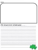 Shamrock Writing Paper