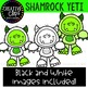 Shamrock Yeti: St. Patrick's Day Clipart {Creative Clips Clipart}