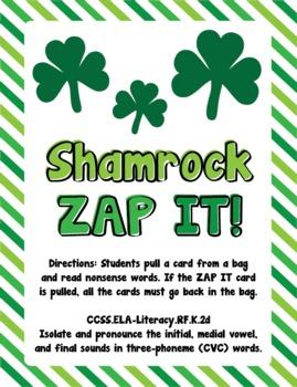 Shamrock ZAP IT!