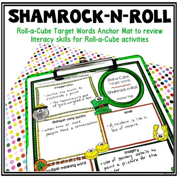 St. Patrick's Day Roll-a-Cube Activity for Literacy and Language Skills