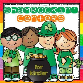 Shamrockin' Center (Literacy and Match Centers for Kinder)
