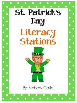 Shamrockin' Literacy Stations